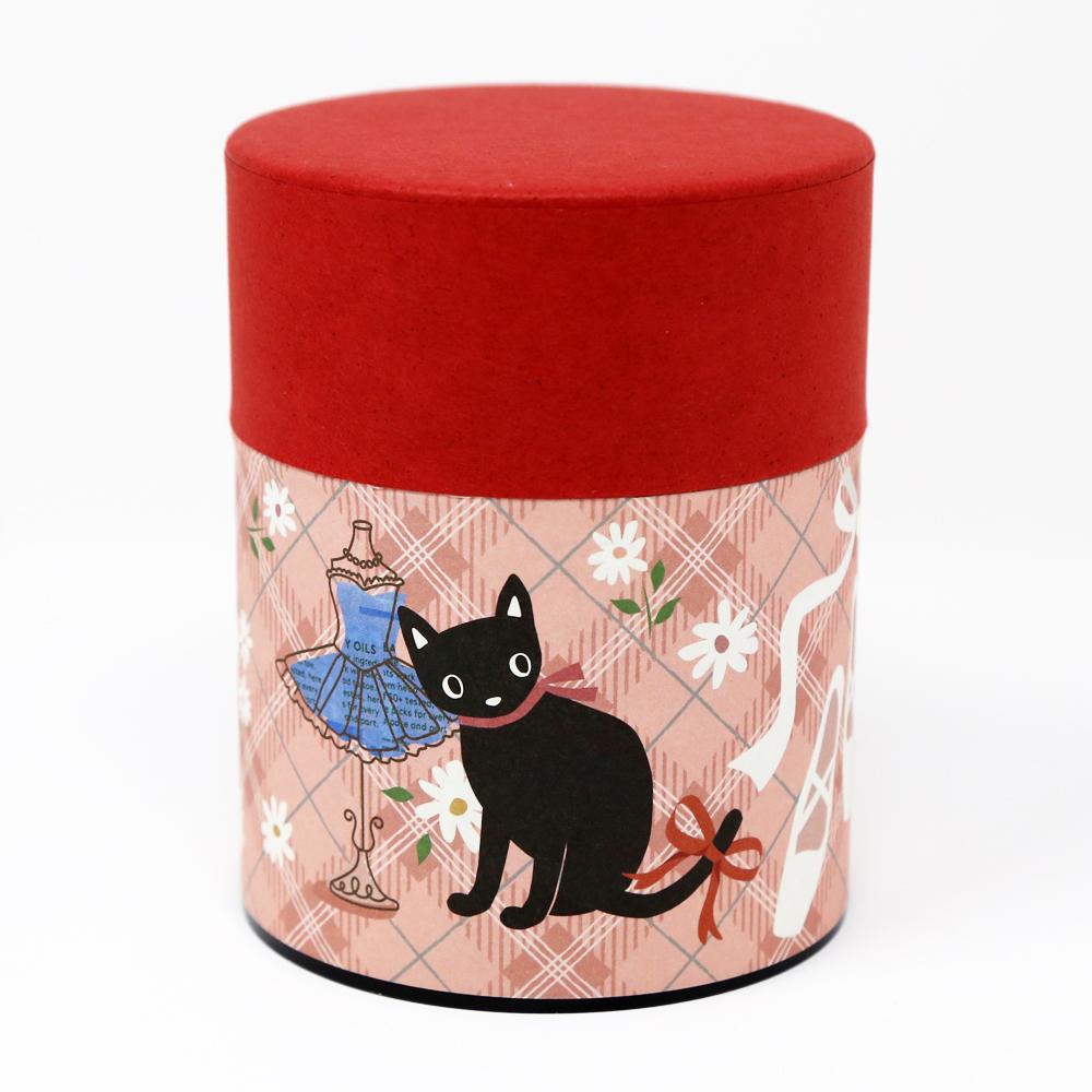 猫お茶缶(のあねこぷっくり)バレエ