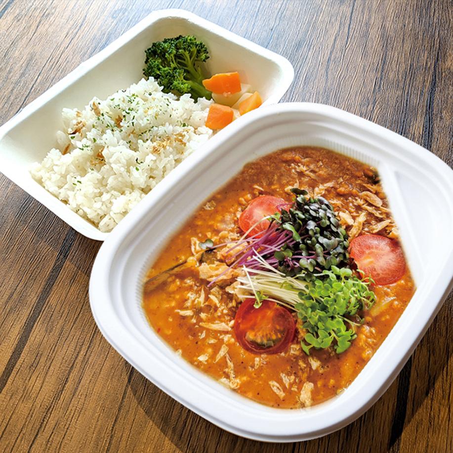 [ お弁当 ] ベジミートカレー / Soy Meat Curry / 素肉醬咖哩便當