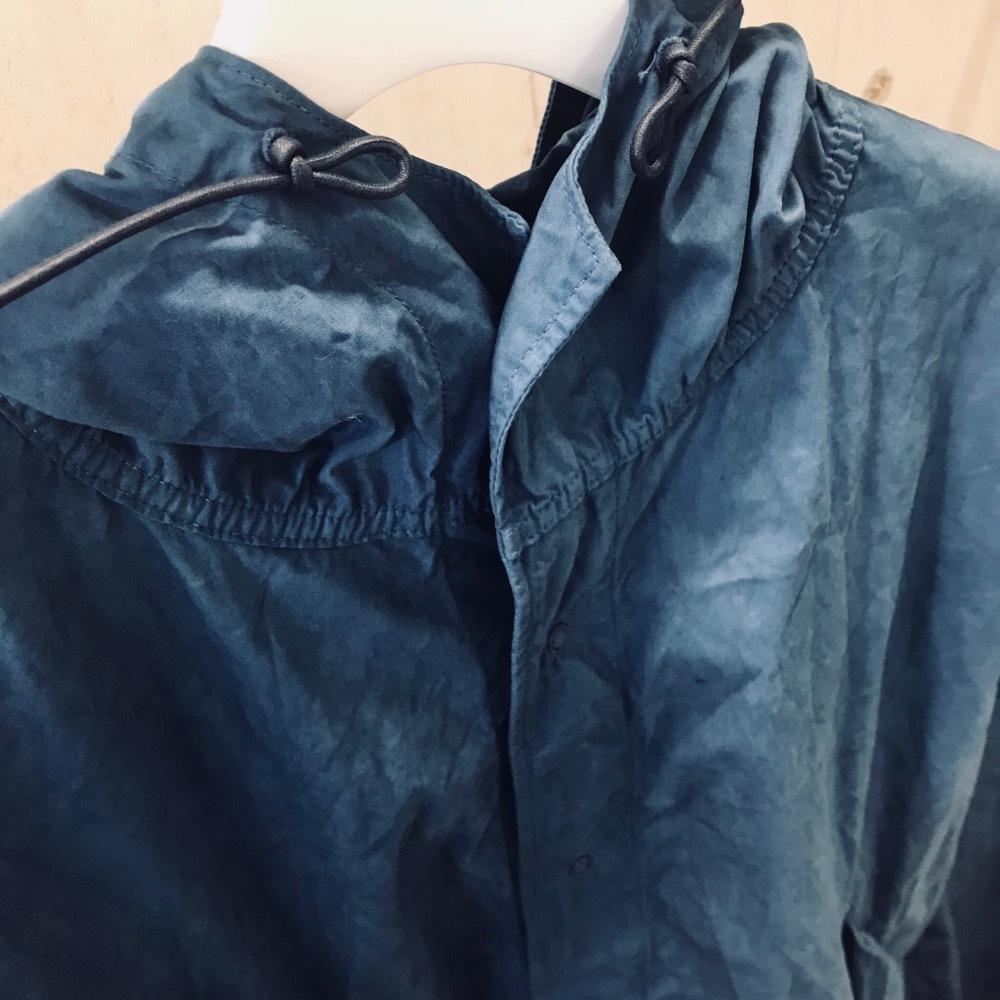 KUON 藍染めコート