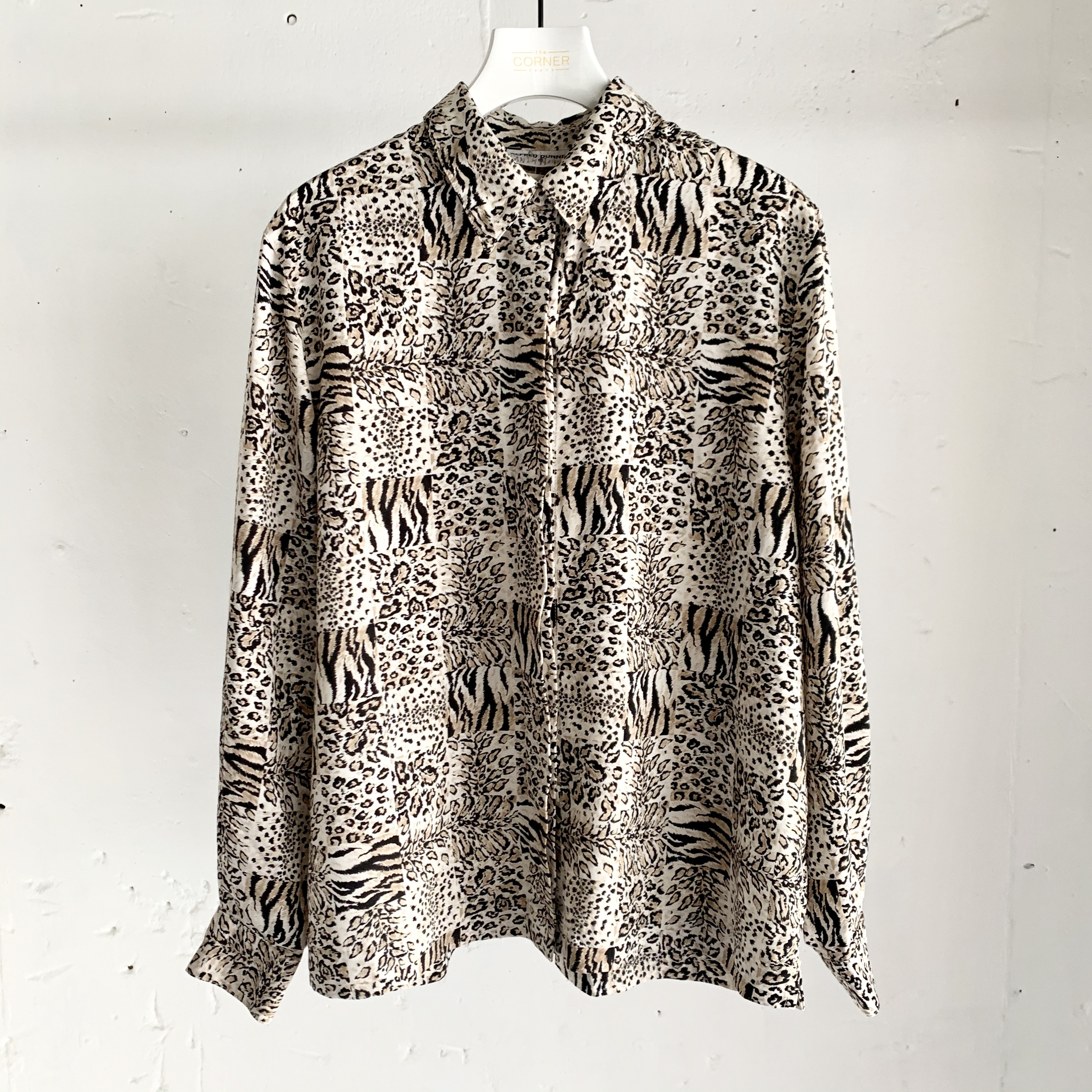 """"""" ALFRED DUNNER """" vintage blouse"""