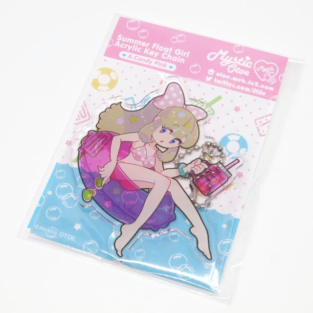 【Mystic Otoe】Summer Float Girlアクリルキーチェーン A