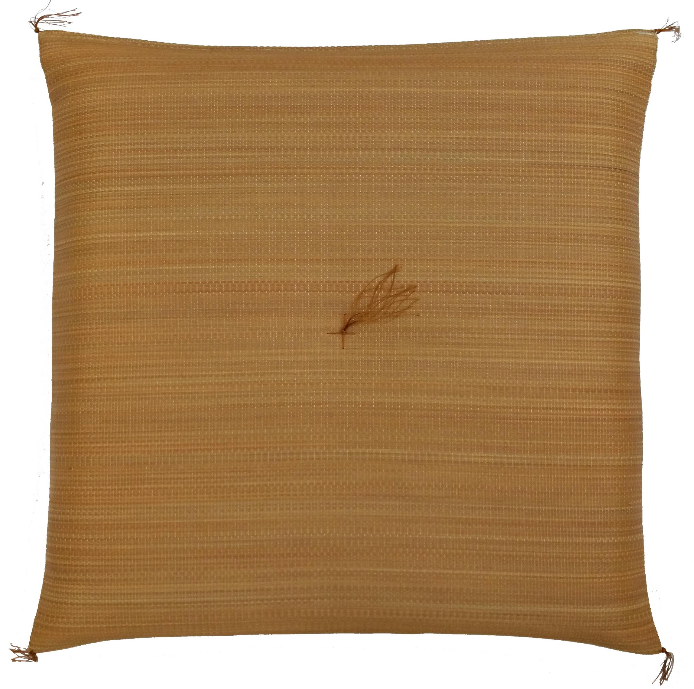 【純国産 い草座布団】ブラウン Japanese Rush Grass Cushion : BROWN