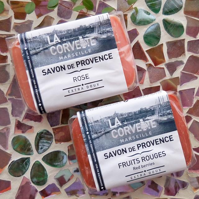 (251-f100) ラ・コルベット サボンドプロヴァンス 100g フレグランスソープ マルセイユ石鹸