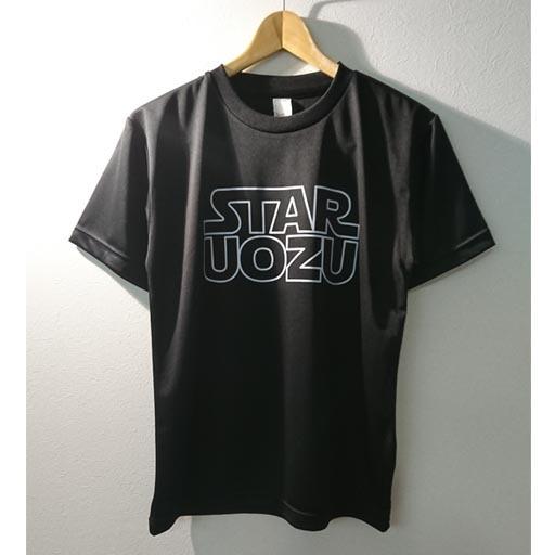 """STAR UOZU """"ドライ"""" Tシャツ ブラック×ホワイト"""