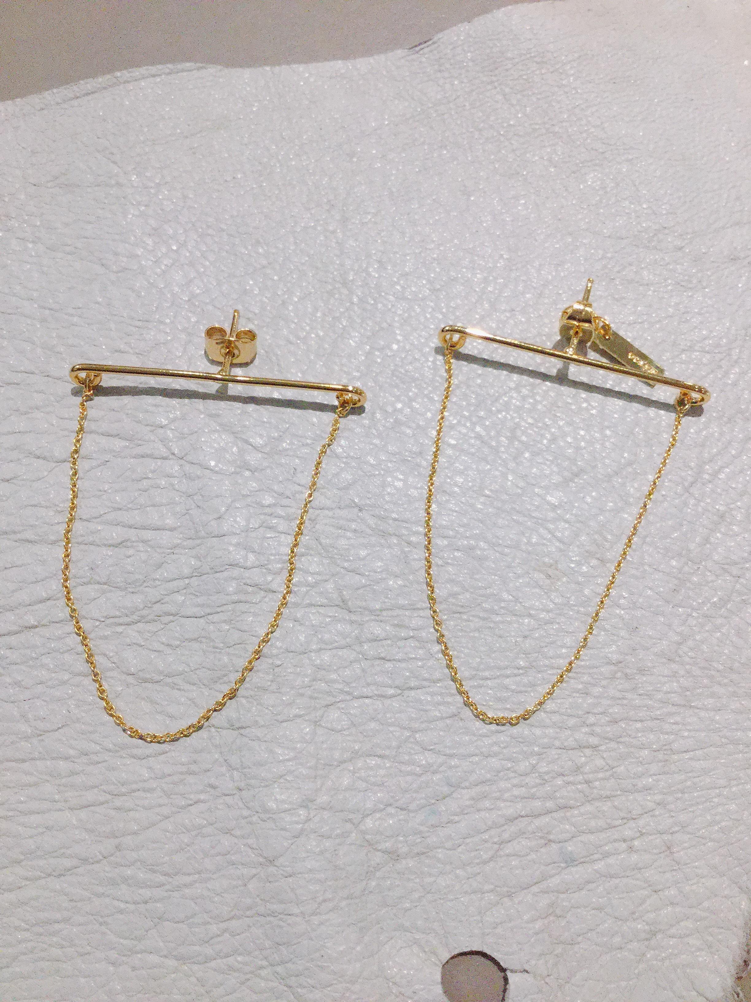 ucalypt   line earring