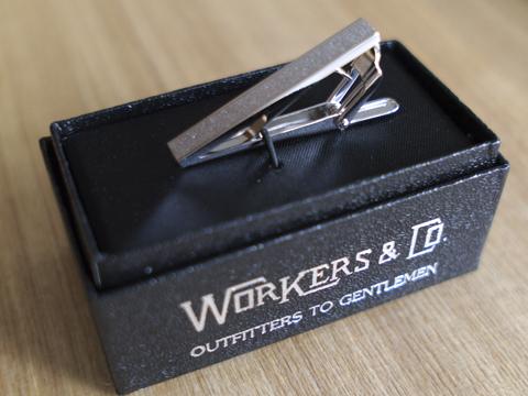 WORKERS ワーカーズ Tie Clip ネクタイクリップ