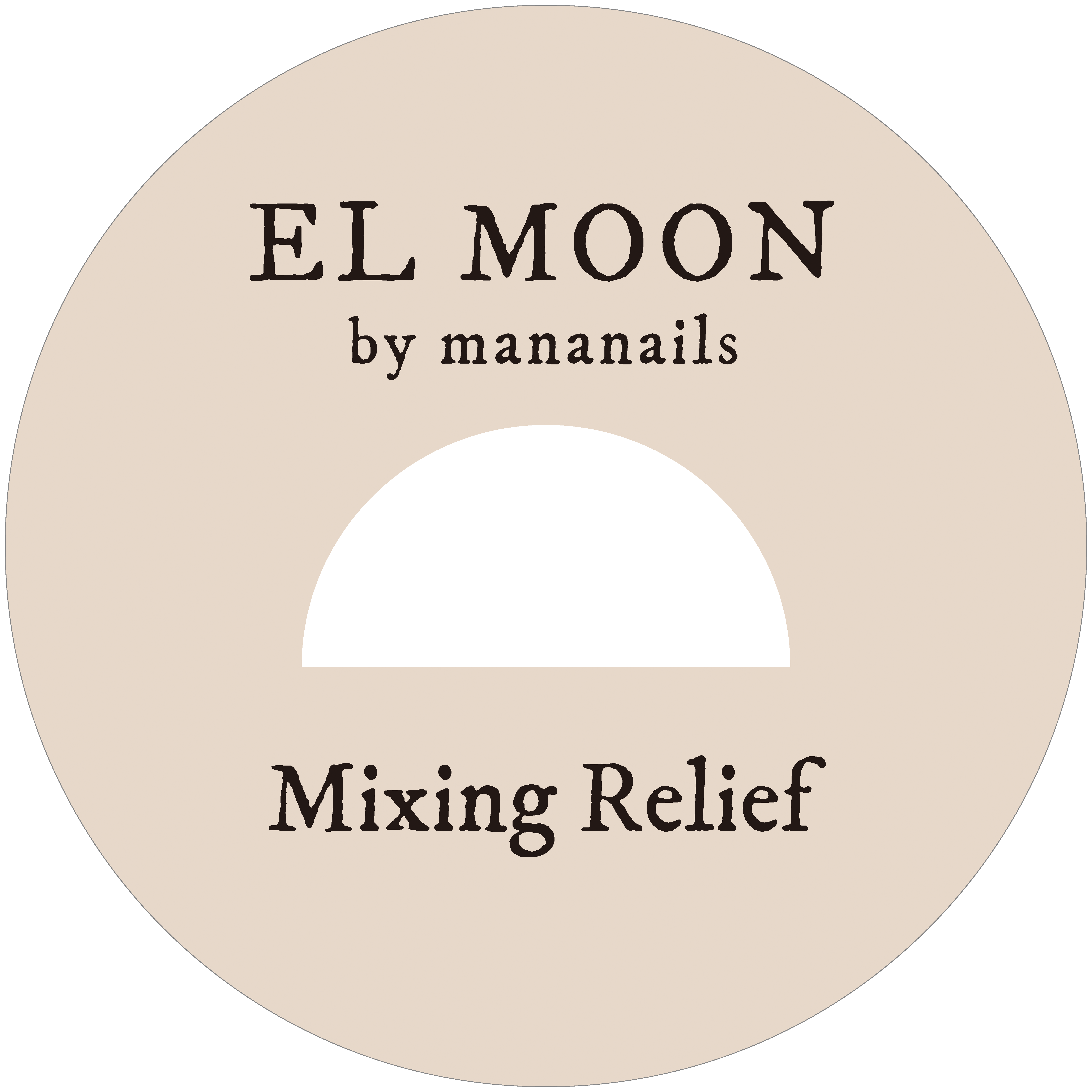 ※次回入荷は未定。決まり次第TOPICSにてお知らせ致します※EL MOON GEL Mixing Relief