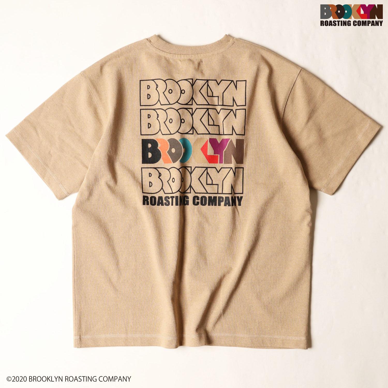 【YAK PAK】BROOKLYN×YAKPAKコラボ プリントTシャツ NO0525105