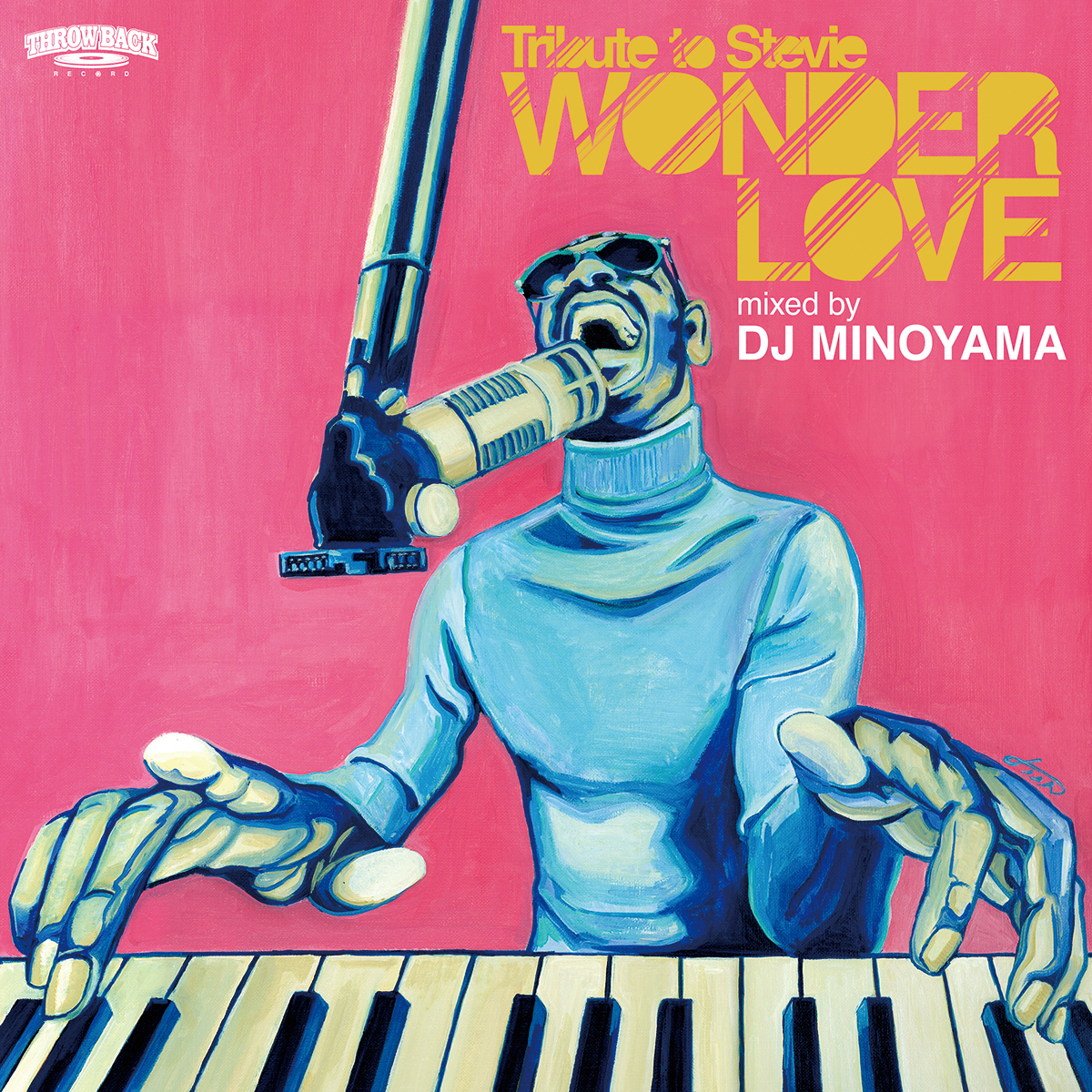 [MIX CD] DJ MINOYAMA / WONDER LOVE -Tribute to Stevie-