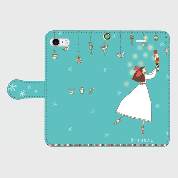 (iPhone)クララ 手帳型スマホケース - 画像1