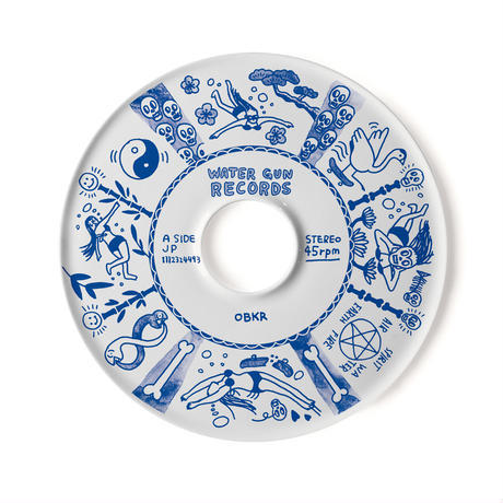 7inch -PLATE [水]【LABEL】