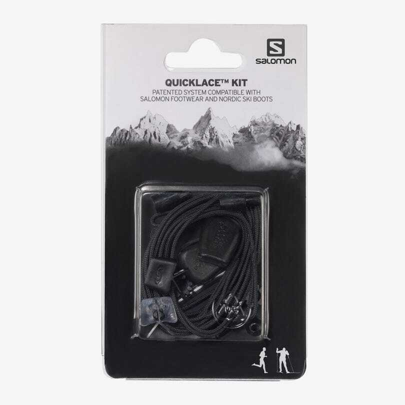 Salomon サロモン ユニセックス QUICKLACE KIT クイックレースキット BLACK(ブラック)L32667200