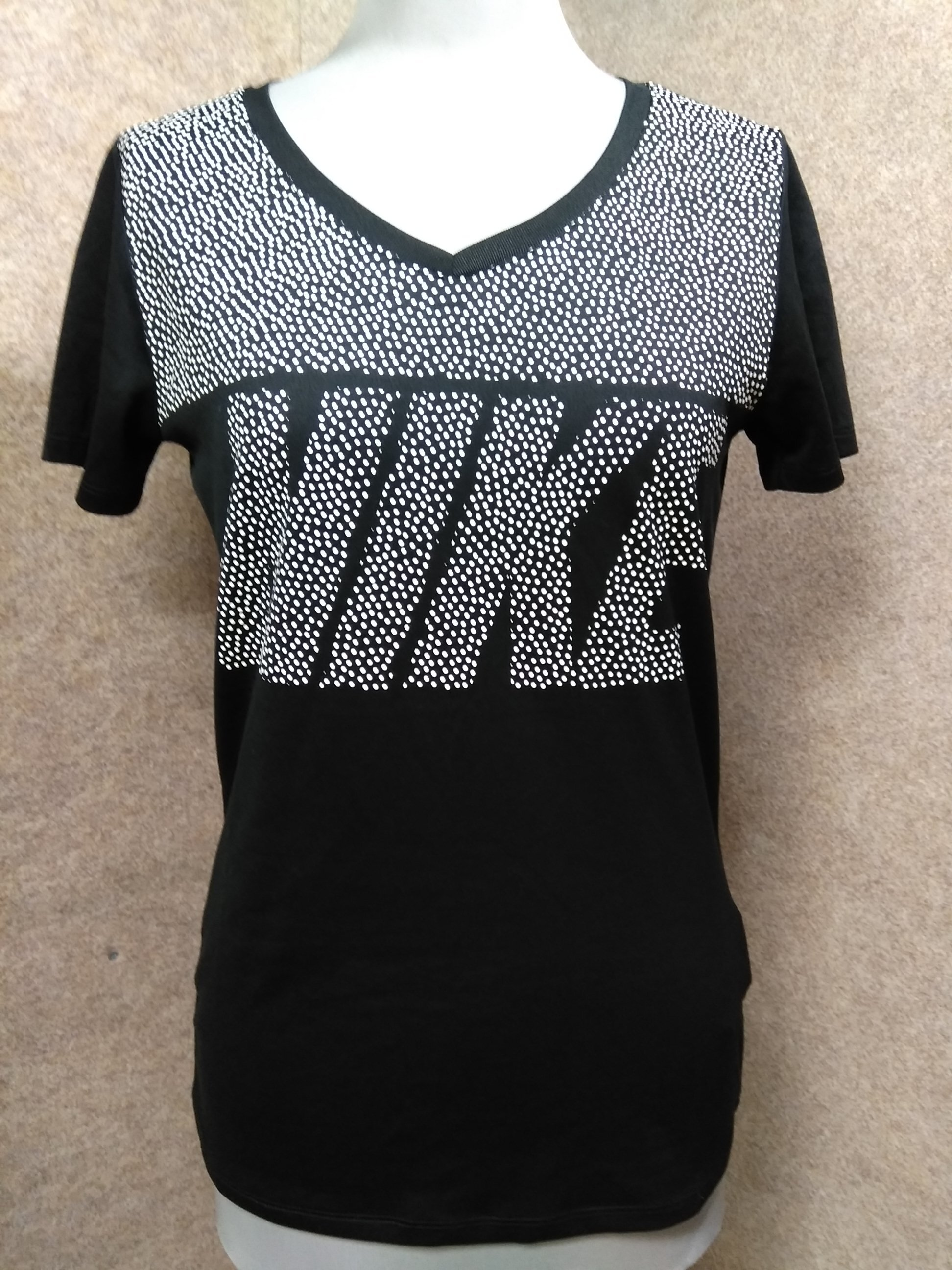 NIKE ナイキ レディース Tシャツ M 黒 u1282a