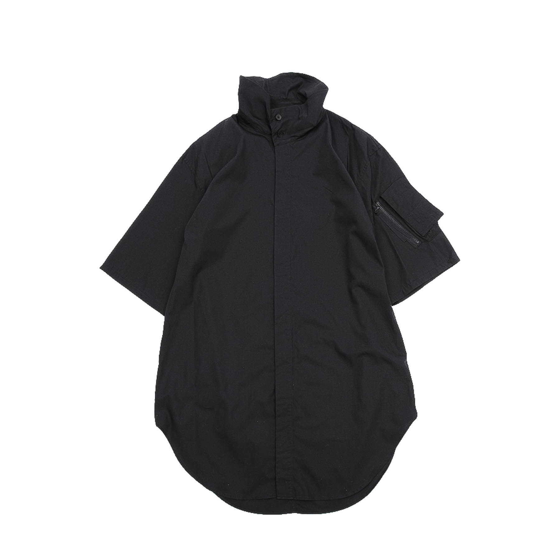 617SHM7-BLACK / タクティカルハイネックシャツ
