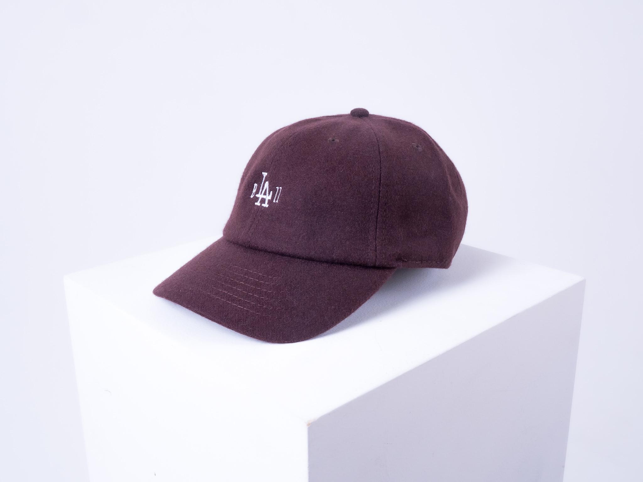 b'LA'zz Wool Rich Cap [BROWN]