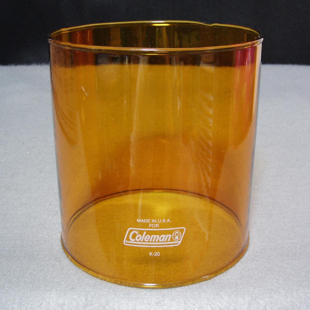 コールマン #4 ランタン アンバー グローブ MADE IN USA 生産終了品 新品希少!214.286.288等に!