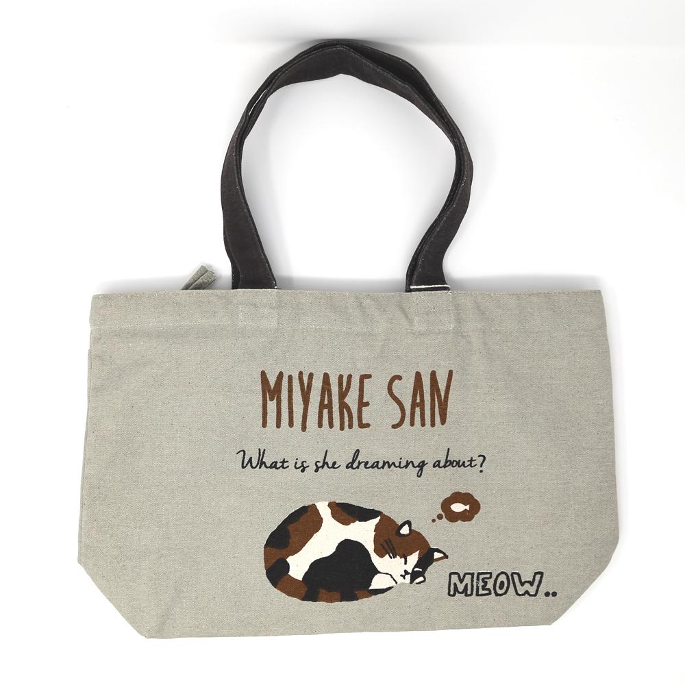猫トートバッグ(スリープミヤサケン)