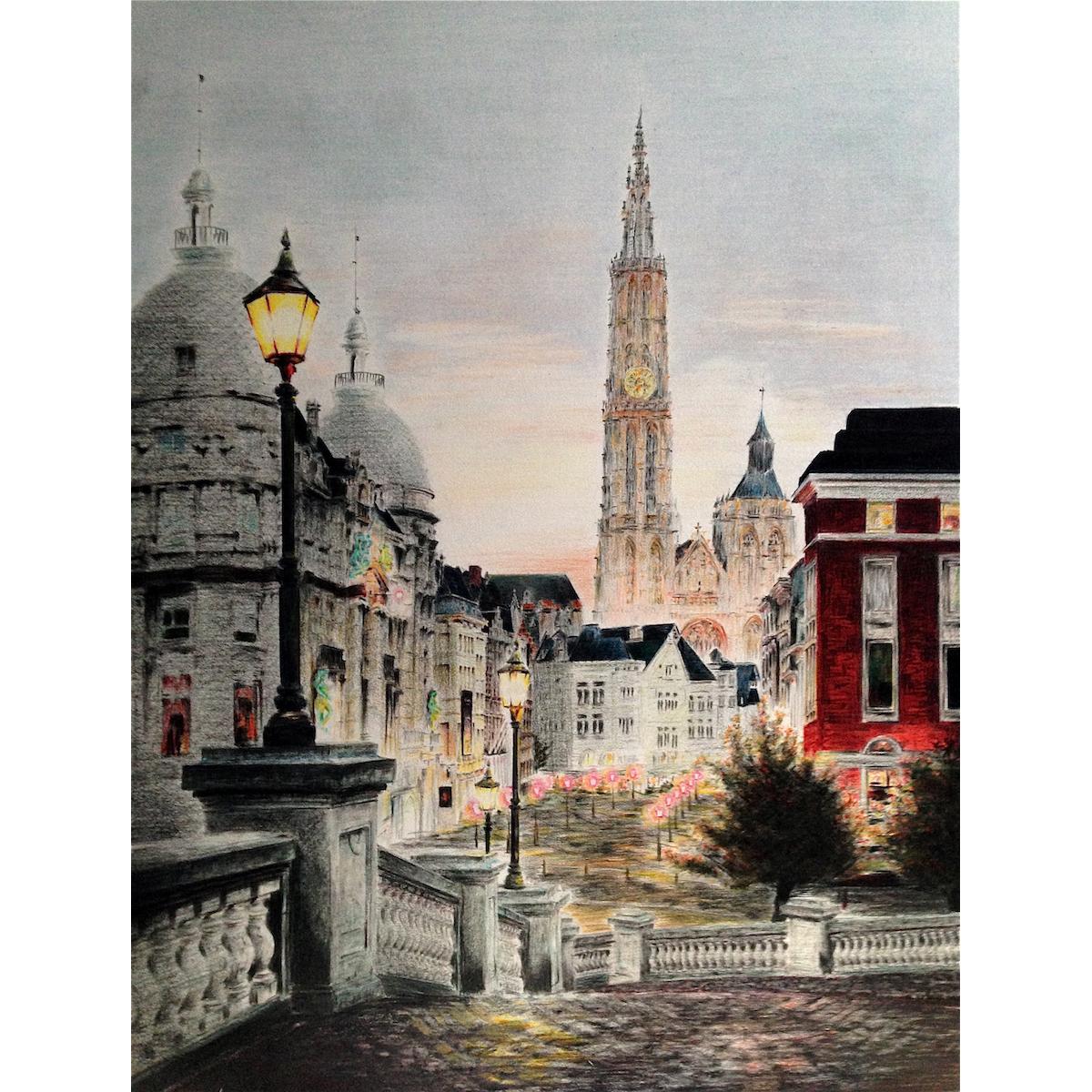「アントワープ大聖堂」