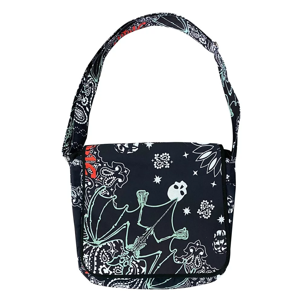 【10000円均一】VIRUS WORLD  Virus Paisley Bag BLACK