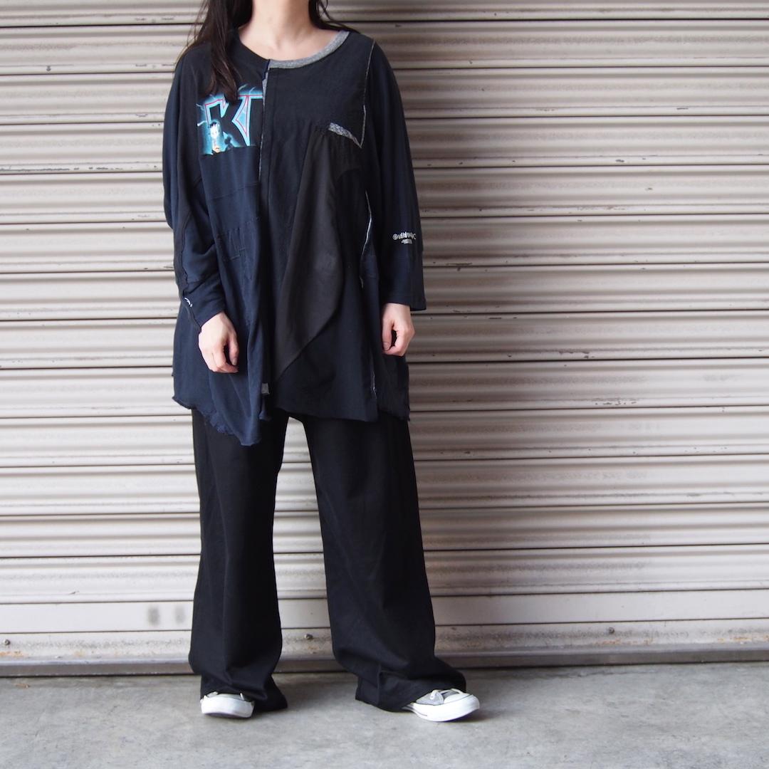【sandglass】dark night T-shirt/ 【サンドグラス】ダークナイト Tシャツ