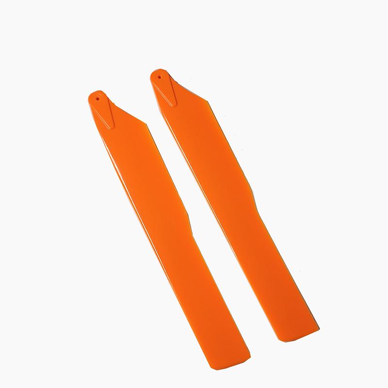 ◆M2 同一形状互換メインカラーブレード フライト中の視認性がUPします。カラー / オレンジ&イエロー