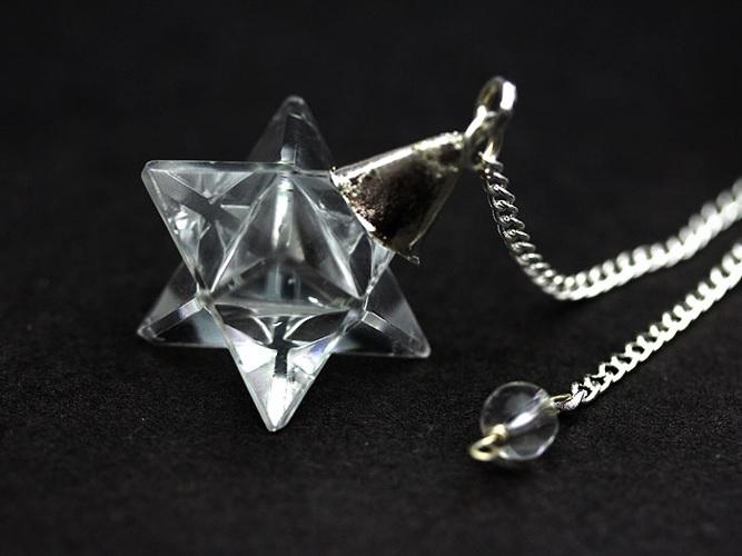 【ダウジング】ヒマラヤ水晶・ペンデュラム(マルカバスター型)~空間エネルギーの調和力を高める