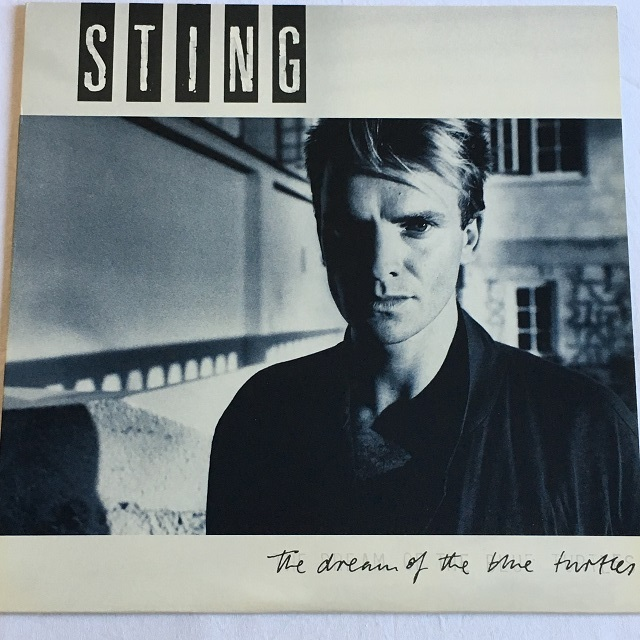 【LP・米盤】Sting  / The Dream Of The Blue Turtle