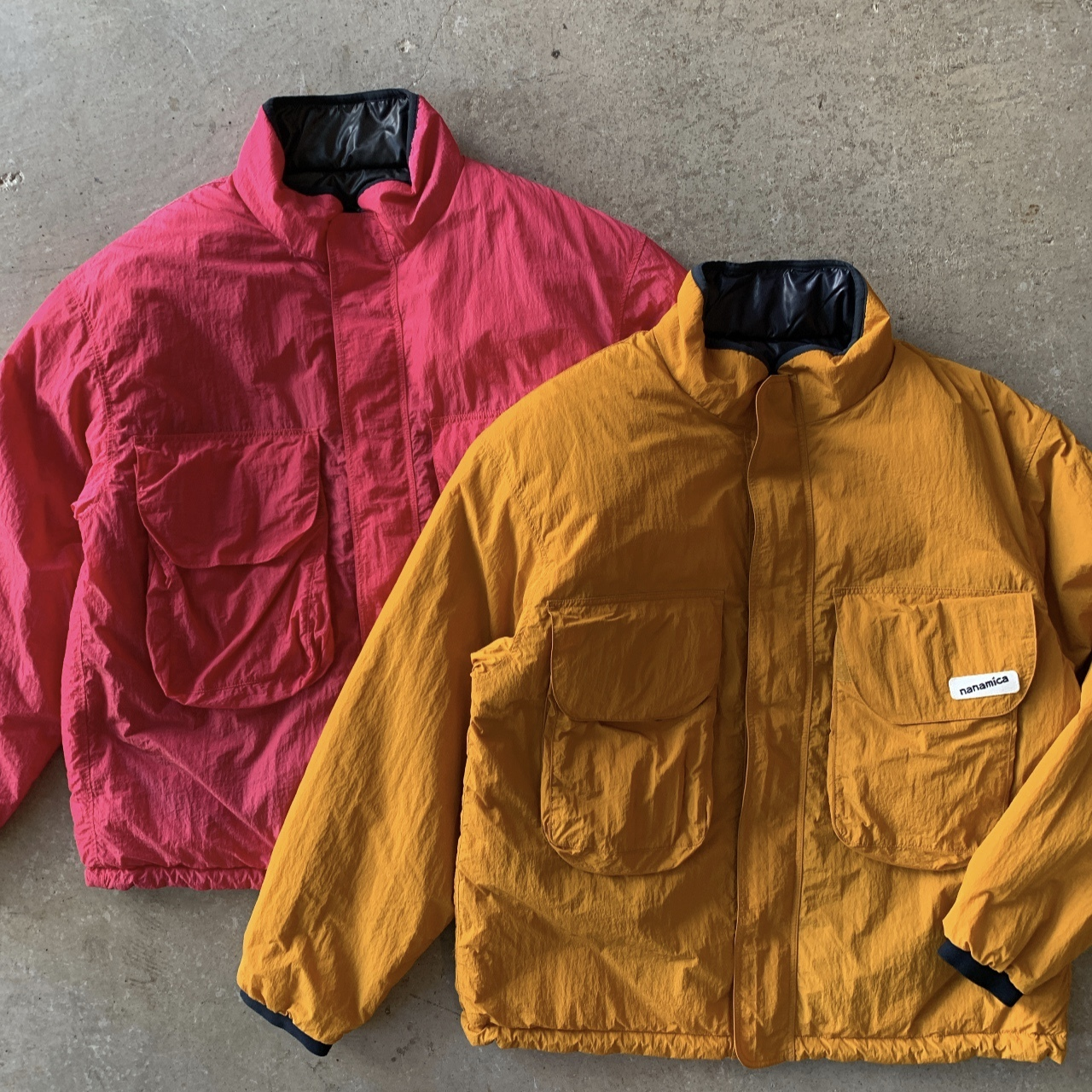nanamica - nanamican Reversible Insulation Jacket