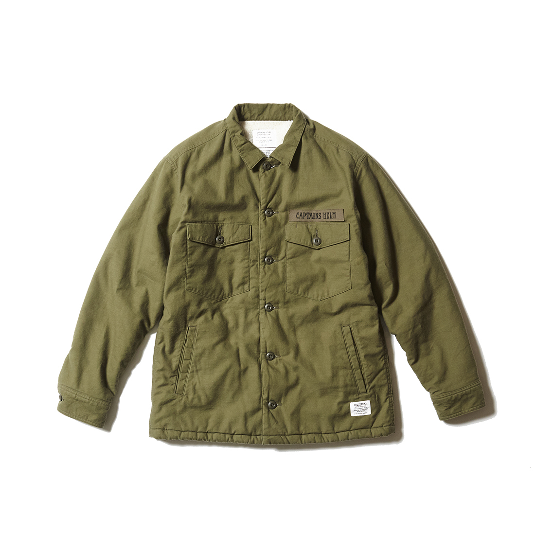 CAPTAINS HELM #Boa Fatigue Shirt JKT
