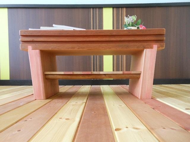 古材 ローテーブル03 - 画像4