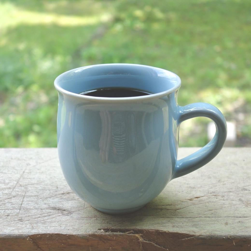 月白青磁丸マグカップ