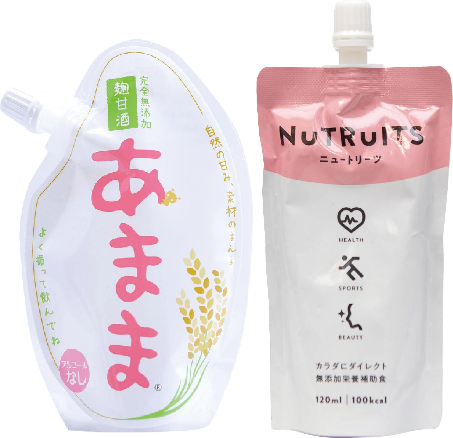 あまま+NUTRUITS(ニュートリーツ)12個セット