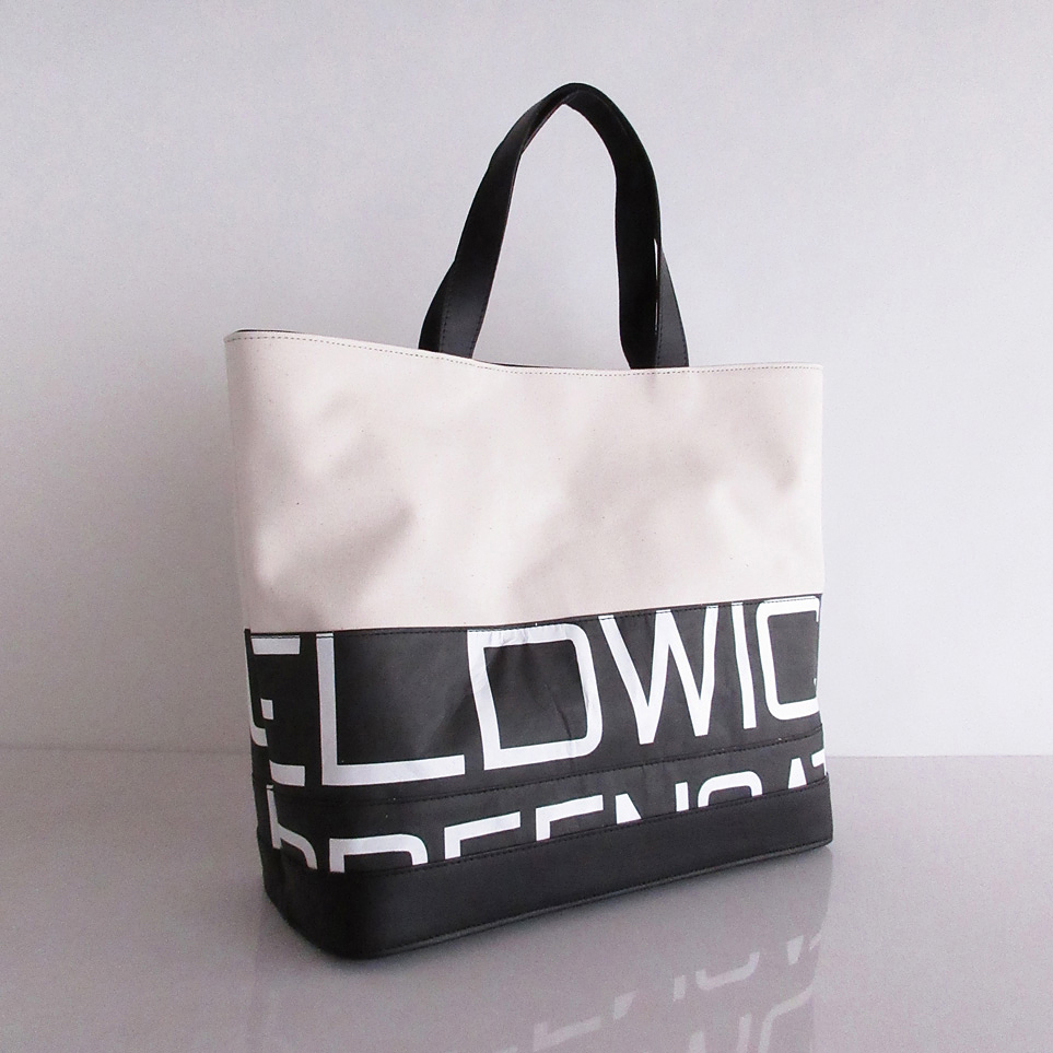 Tote Bag (S) / White  TSW-0002