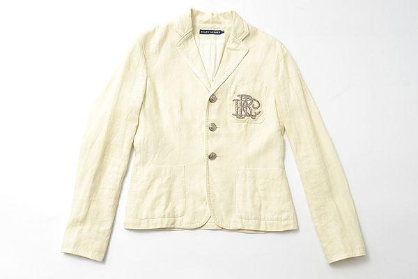 RALPH LAUREN size4 linen jacket RL