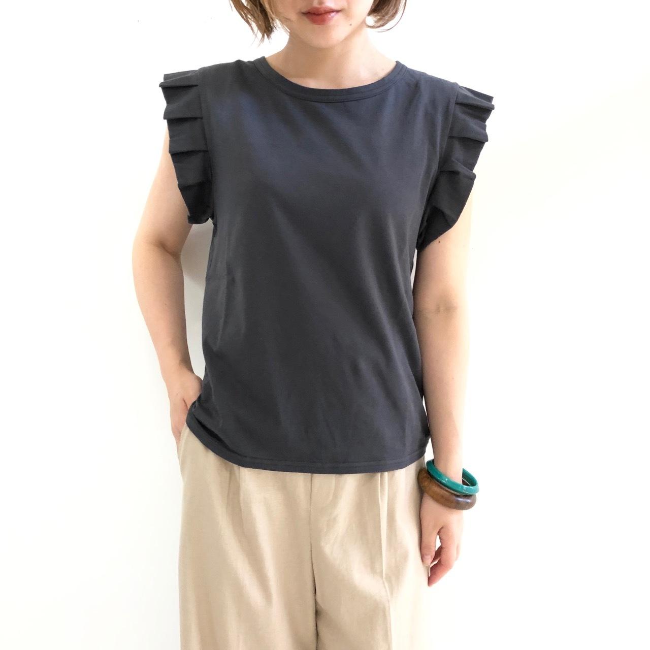 【 siro de labonte 】- R913213A - フリルTeeシャツ