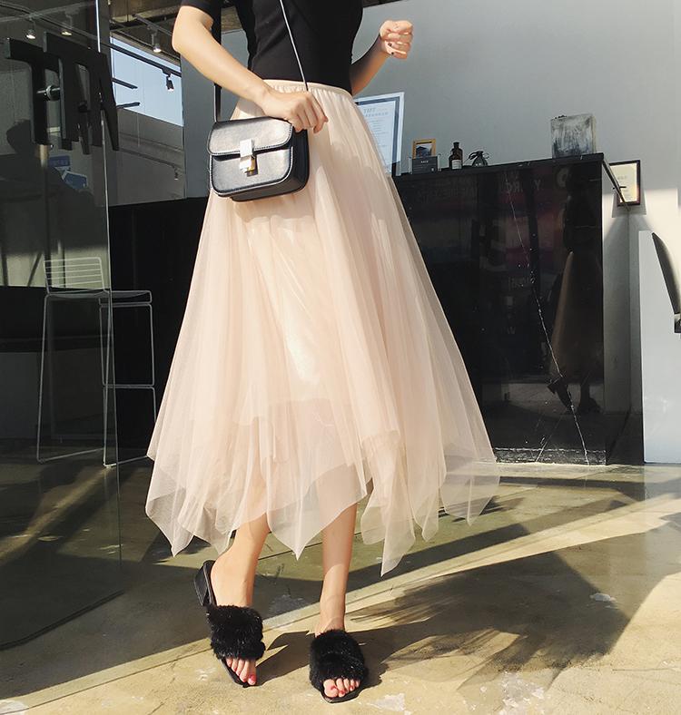 【bottoms】不規則ファッション着痩せスカート20483873