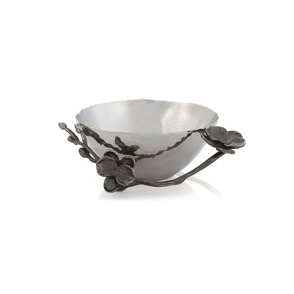 Michael Aram Black Orchid Nut Dish(マイケルアラム ブラックオーキッド ナッツデッシュ)110715