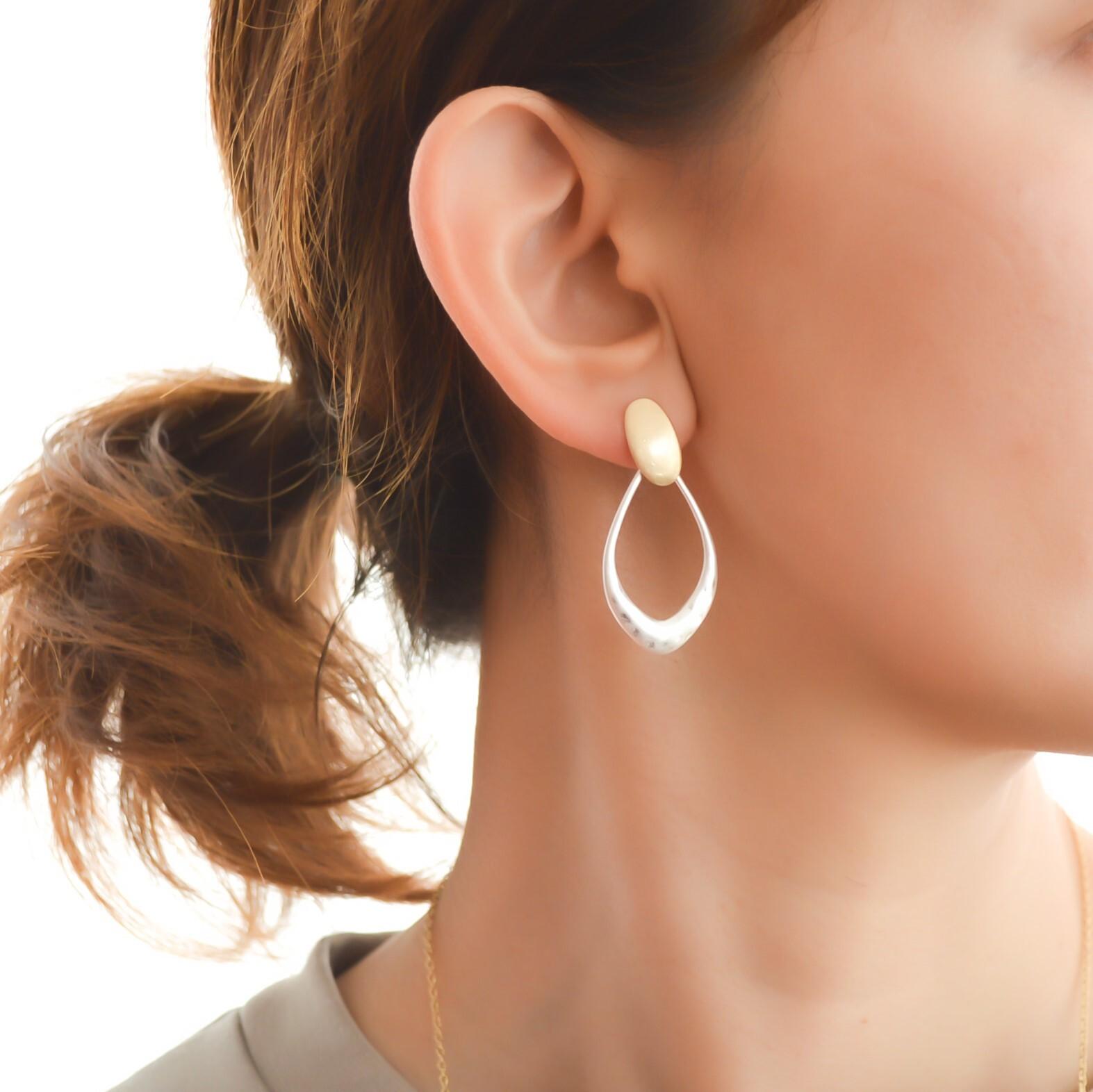 Metal drop pierces/resin nohole