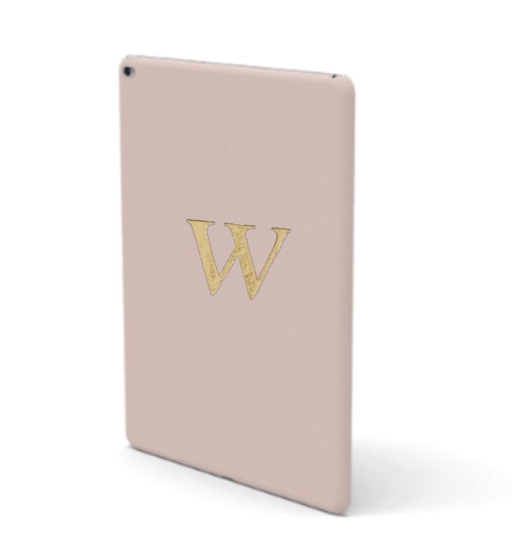 iPad Premium Smooth Leather Case (Cotton Pink)
