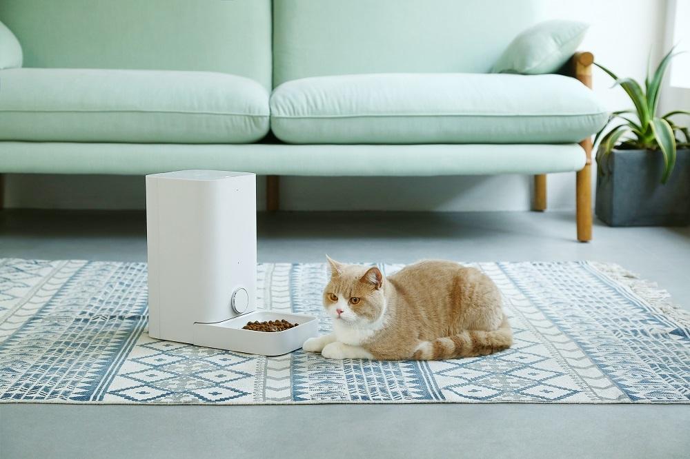 PETKIT 「フレッシュエレメント ミニ」~ ネコちゃんたちにもぴったりの給餌量! 外出先でも安心! スマホでペットにごはんを! 自動給餌機~