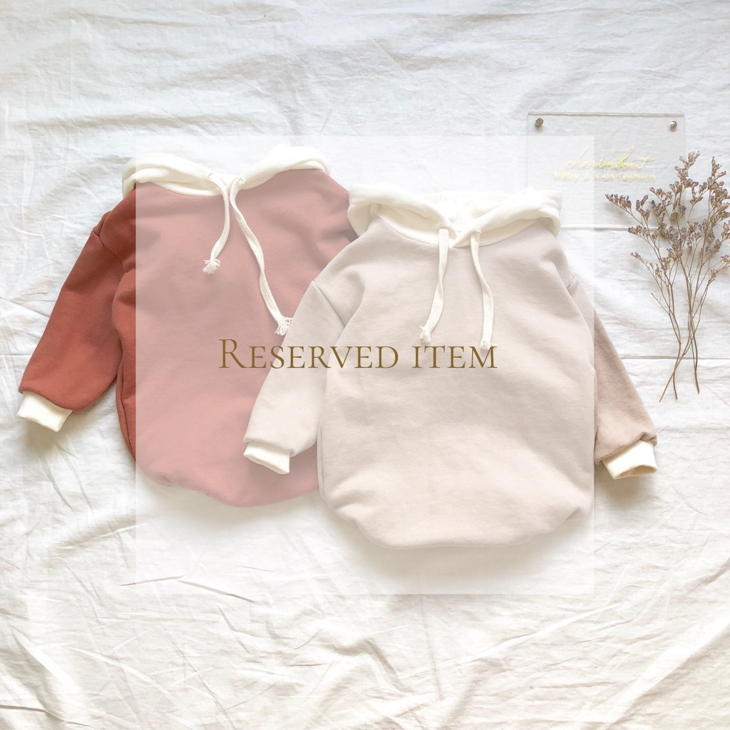 《 Reserved item 》バイカラー rompers