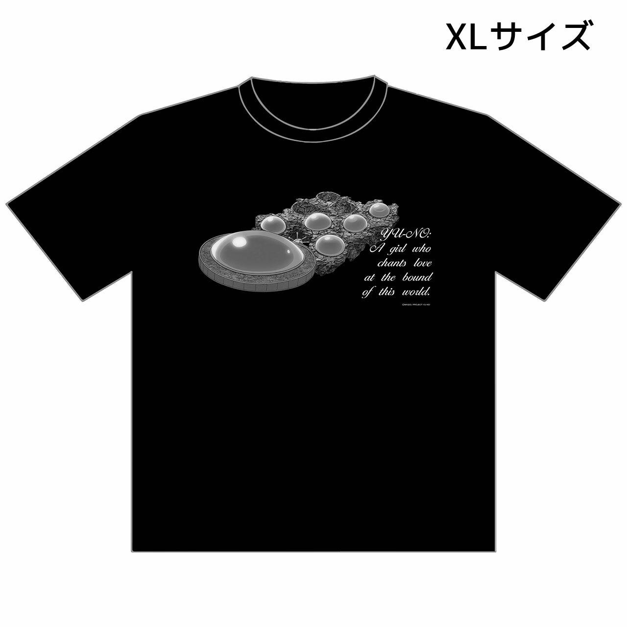 【4589839344432】この世の果てで恋を唄う少女YU-NO/Tシャツ/XLサイズ