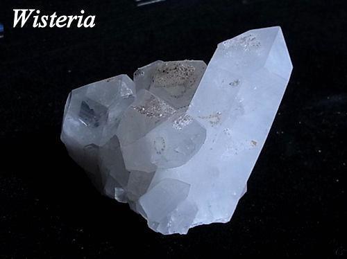 ヒマラヤ水晶クラスター バジル鉱山産 S03(95.2g)