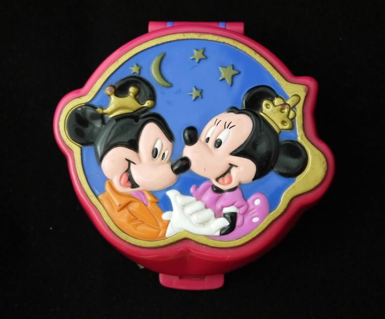 ポーリーポケット ディズニー  ミッキーとミニーのコンパクト 新品