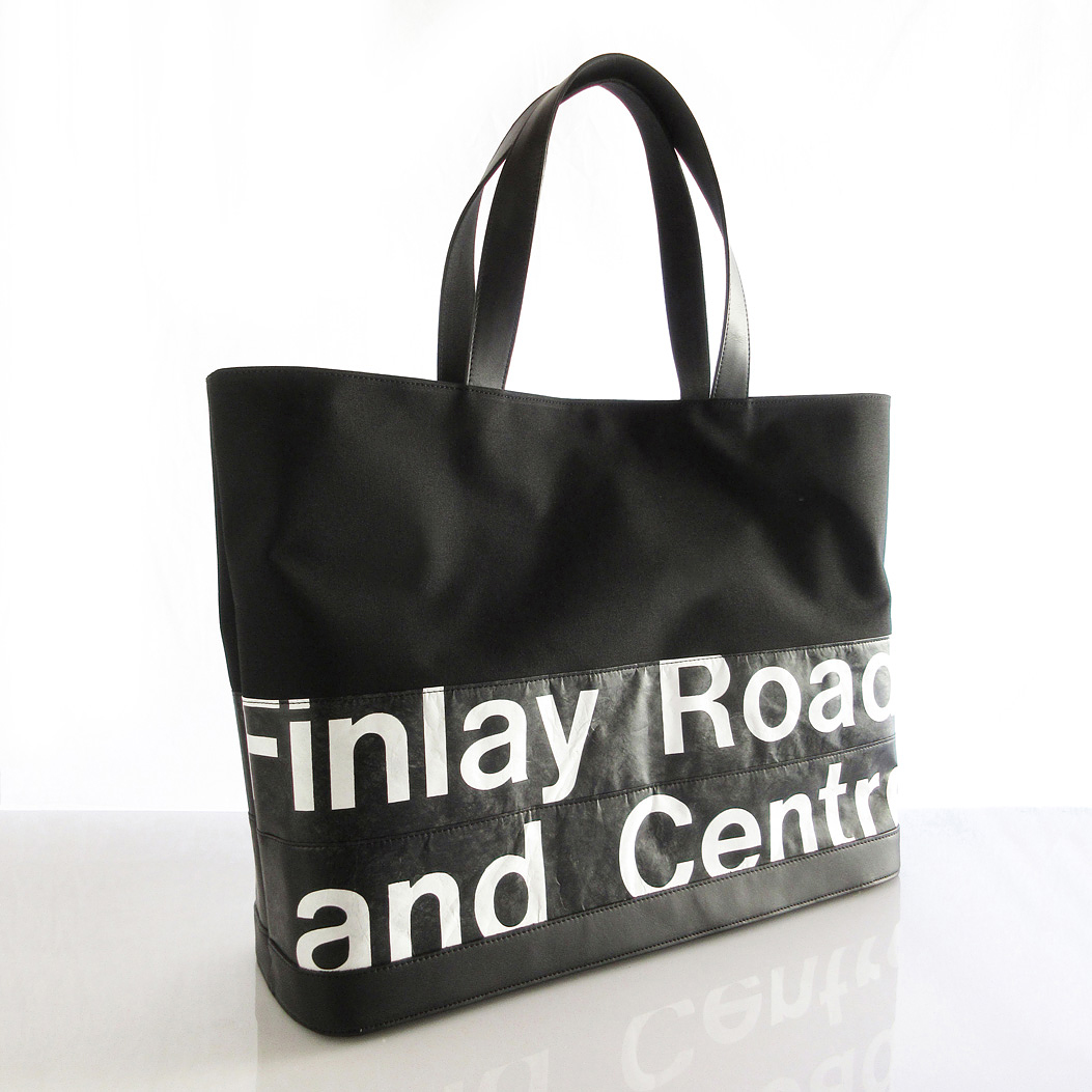 Tote Bag (L) / Black  TLB-0013