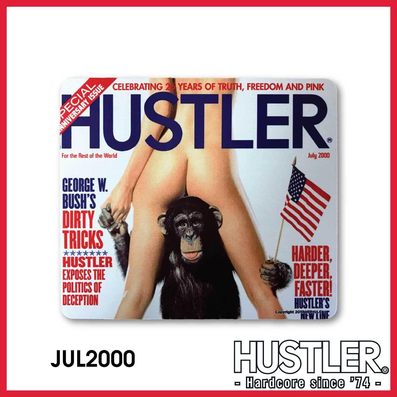 HUSTLER MOUSE PAD(ハスラー・マウスパッド) / JULY 2000 カバー