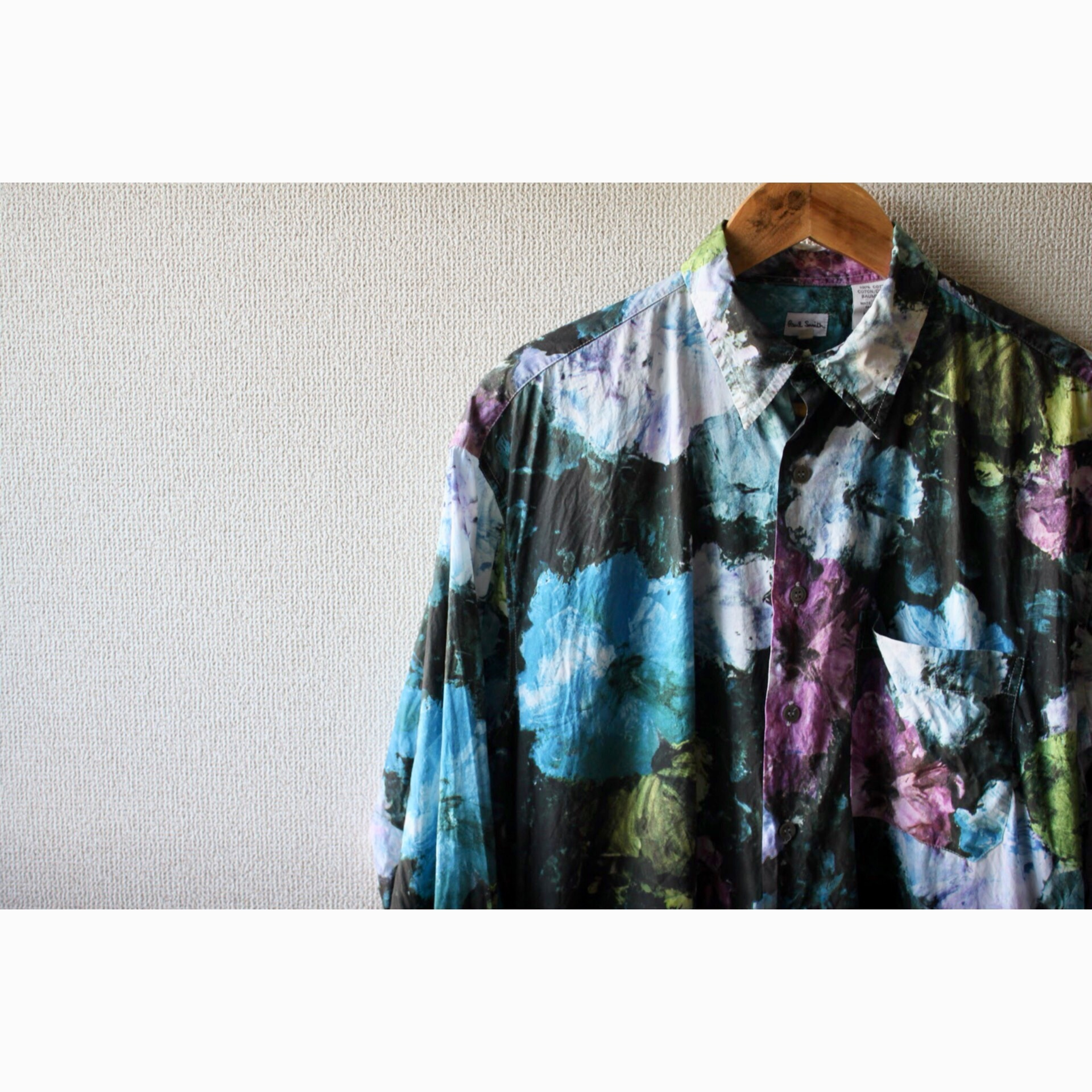 Paul Smith flower print shirt
