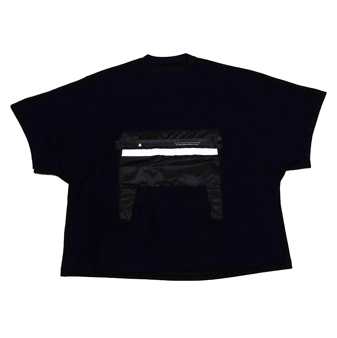 720CPM2-BLACK / リフレクターポケット Tシャツ