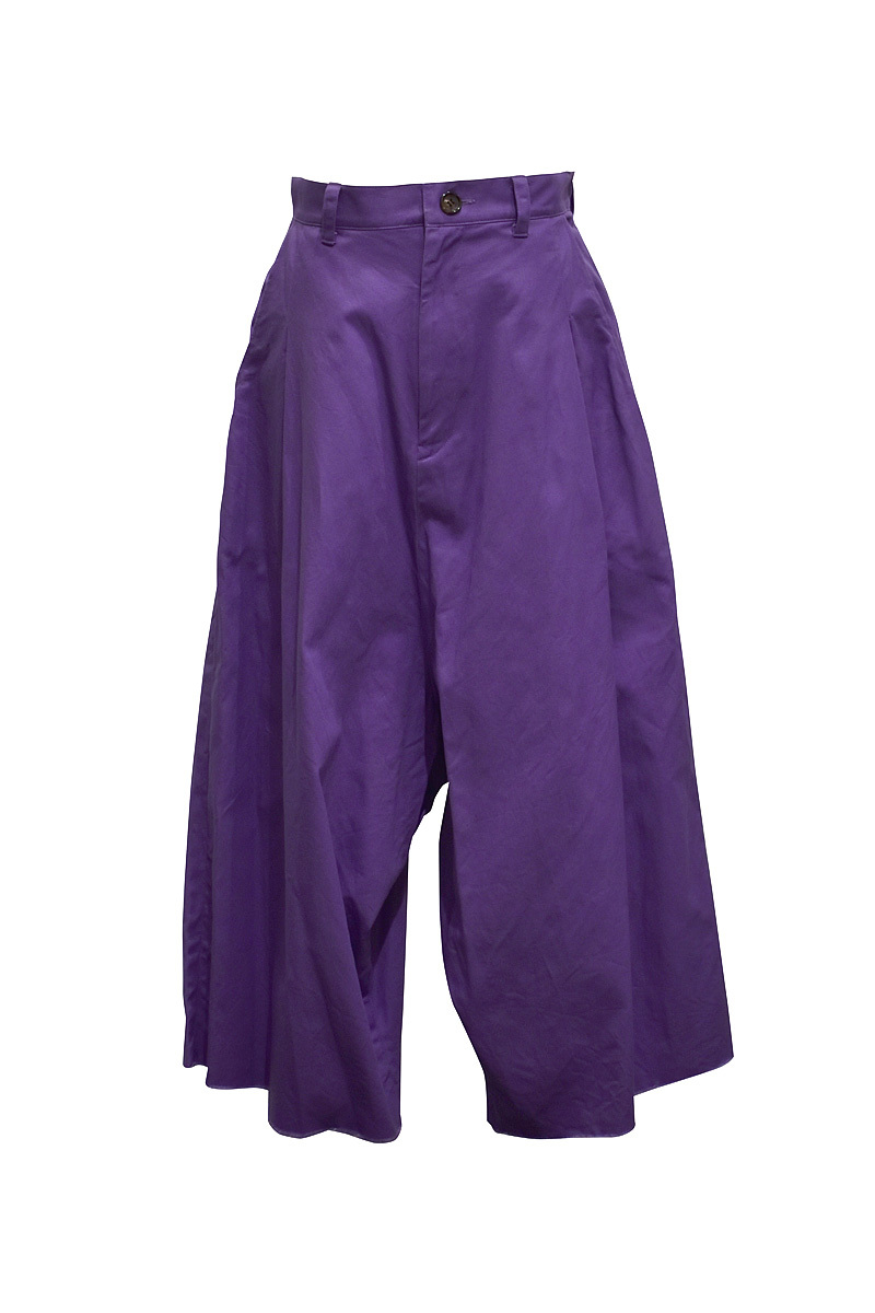 RIDDLEMMA / Color pants / Grape