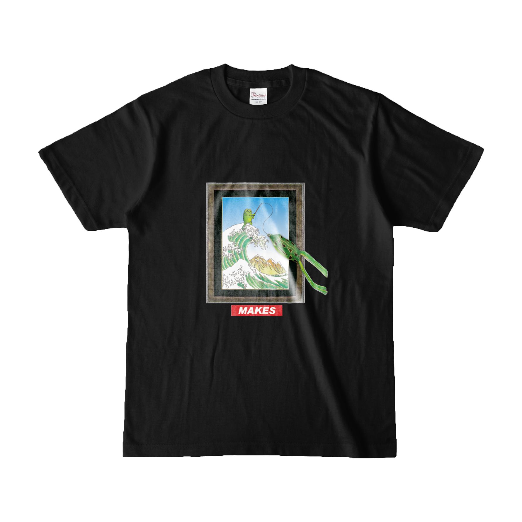 【再入荷】MAKES半袖Tシャツ(Frog)